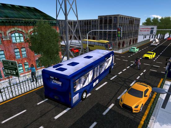 Police Bus City Transporter 3D-ipad-3
