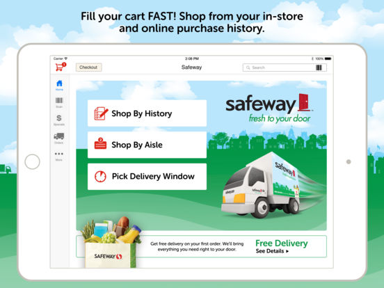 Safeway Grocery Delivery AppRecs