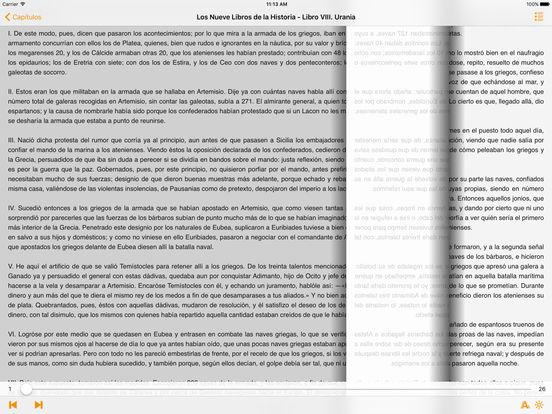 Los Nueve Libros de la Historia - Heródoto iPad Screenshot 1