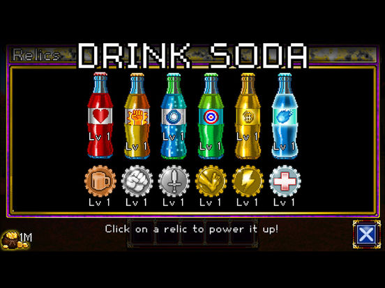 Screenshots of Soda Dungeon for iPad