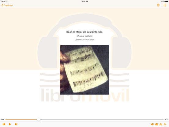 Bach lo Mejor de sus Sinfonías - AudioEbook iPad Screenshot 2