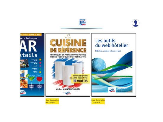 App shopper libapp bpi education for Referentiel cap cuisine