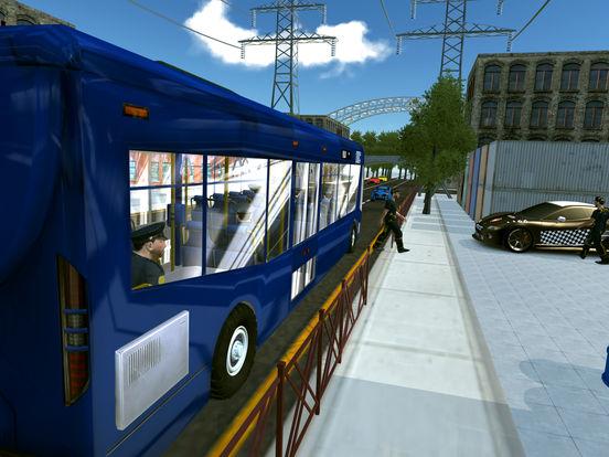 Police Bus City Transporter 3D-ipad-2