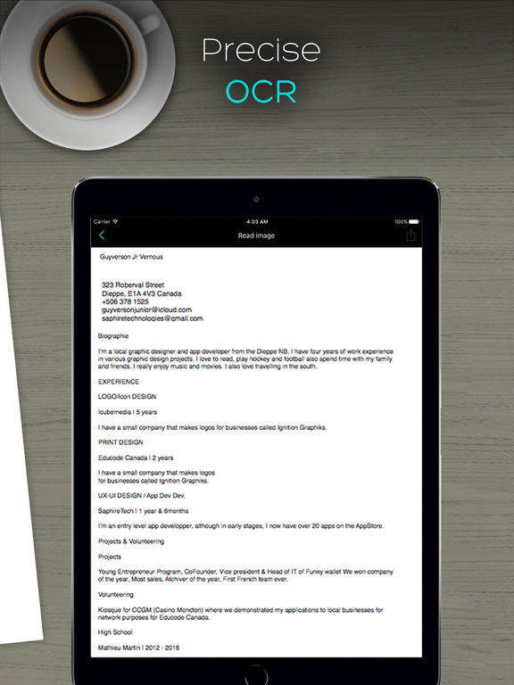 QuickScanner: OCR PDF Scanner & Printer for Documents Emails Receipts Screenshots
