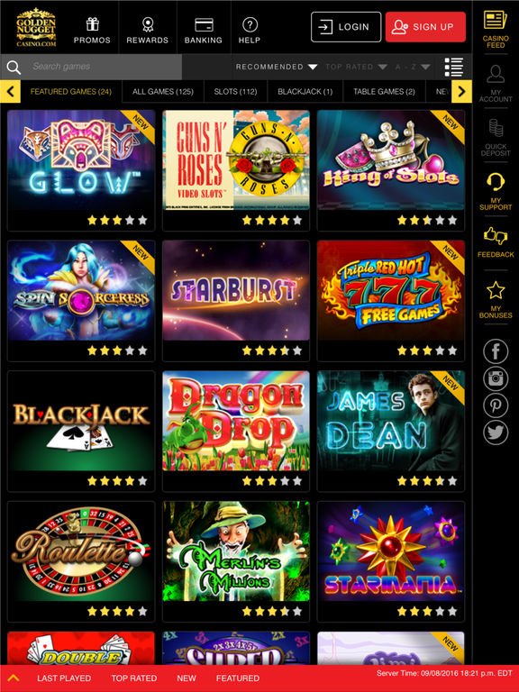 golden nugget online casino free slot spiele