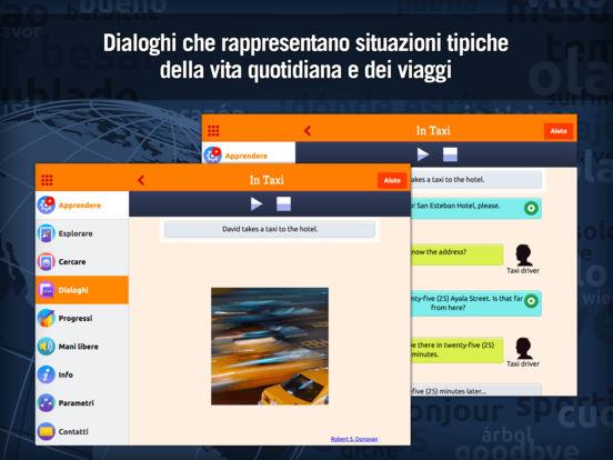 MosaLingua Inglese : Imparare e Memorizzare l'Inglese rapidamente (Italiano ► Inglese) iPad Screenshot 2