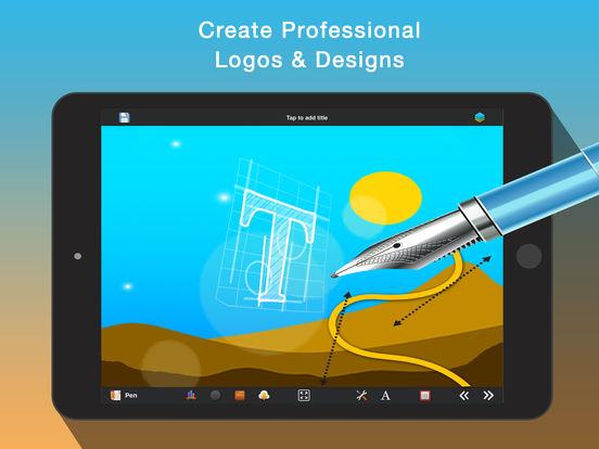 Logo & Design Creator - Make pro graphic designs, logos, flyers, icons, presentations & business cards screenshot