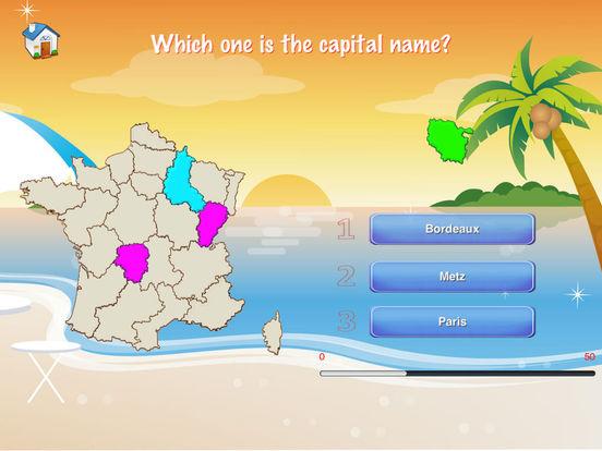 France Puzzle Map iPad Screenshot 4