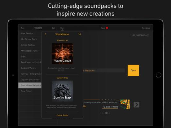 Novation Launchpad screenshot