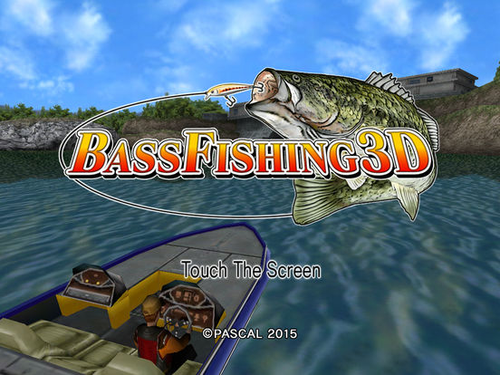 Bass fishing 3d on the boat hd apppicker for Bass fishing 3d