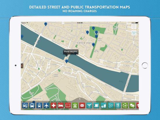 Florence: Travel Guide iPad Screenshot 4