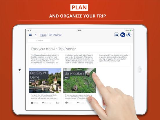 Bern City tripwolf Travel Guide iPad Screenshot 3