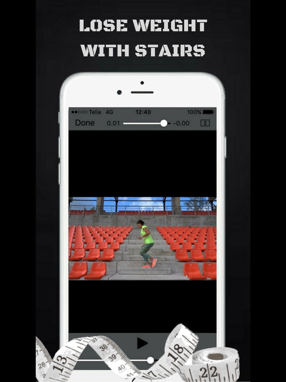Burn Calories with Stairs Exercise Workout Routine Screenshots