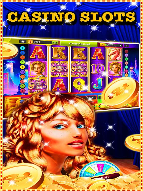 Play free golden goddess slots online