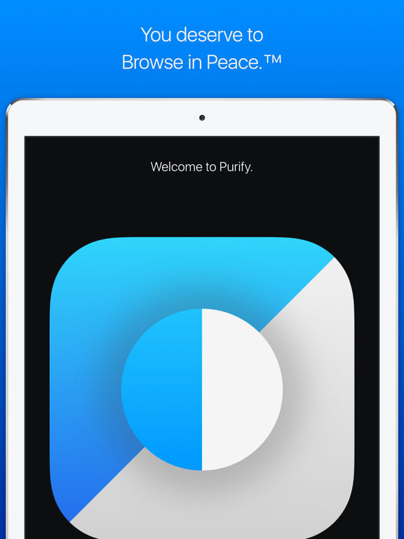 Purify: Block Ads and Tracking. Browse in Peace. Screenshots