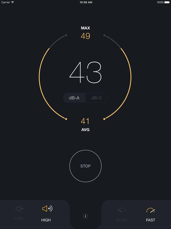 dB Decibel Meter - sound level measurement tool Screenshots