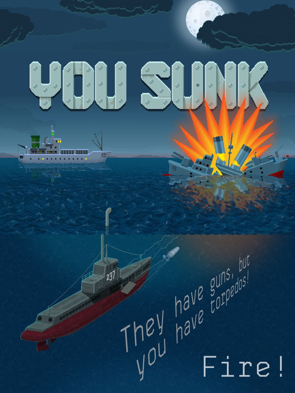 You Sunk - Submarine Gamescreeshot 1