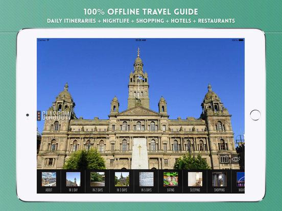 Glasgow: Travel Guide iPad Screenshot 1