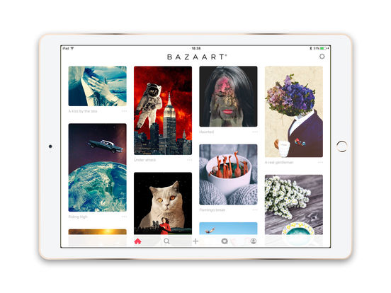 Bazaart - Photo Editor and Picture Collage Maker Screenshots