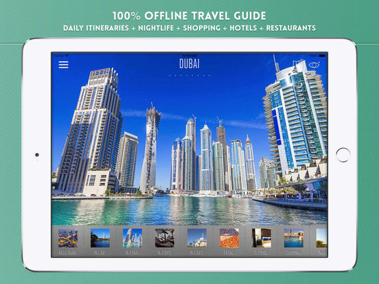 Dubai Travel Guide iPad Screenshot 1