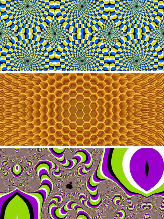 Optical Illusions Wallpapers With Visual Tricks HD Screenshot
