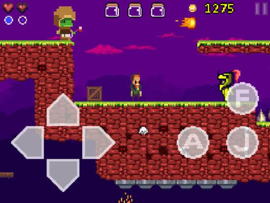 Goku to hell - Pixel style side-scroller game Screenshot