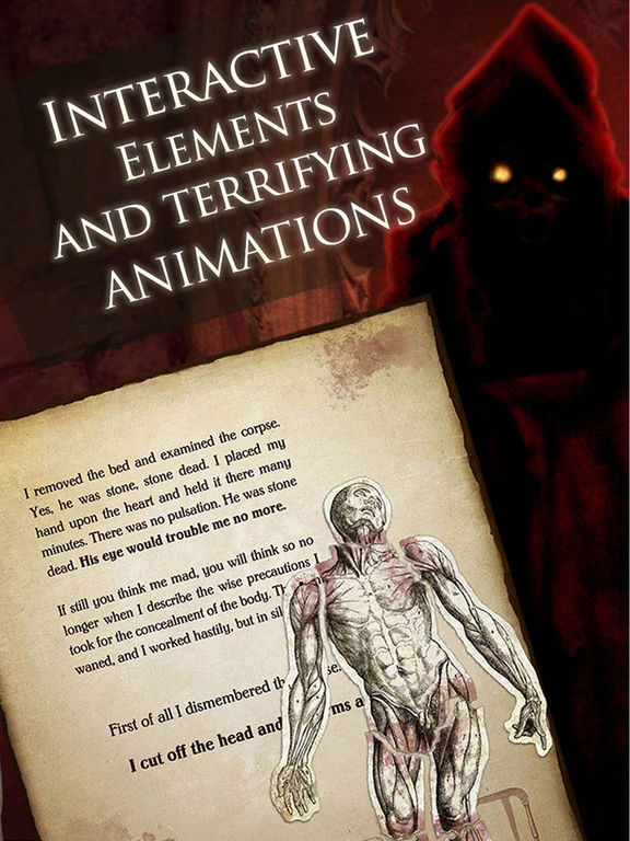 Screenshot #2 for iPoe 1 - Edgar Allan Poe Immersive Stories