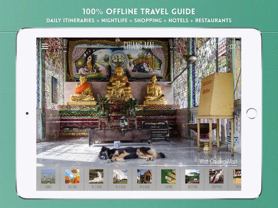 Chiang Mai Travel Guide iPad Screenshot 1