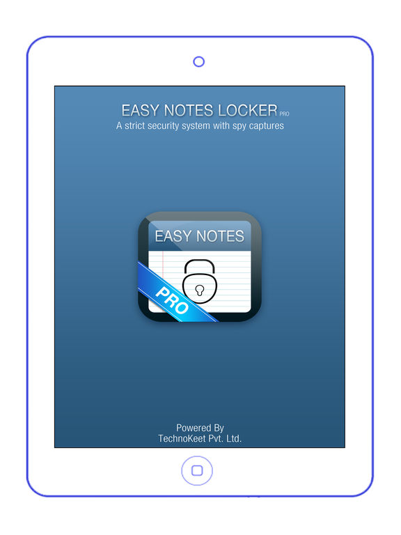 Easy Notes Locker Pro - Password Protected Notepad Screenshots