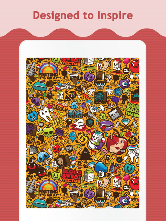 Doodle Wallpapers & Backgrounds for iPad - AppRecs