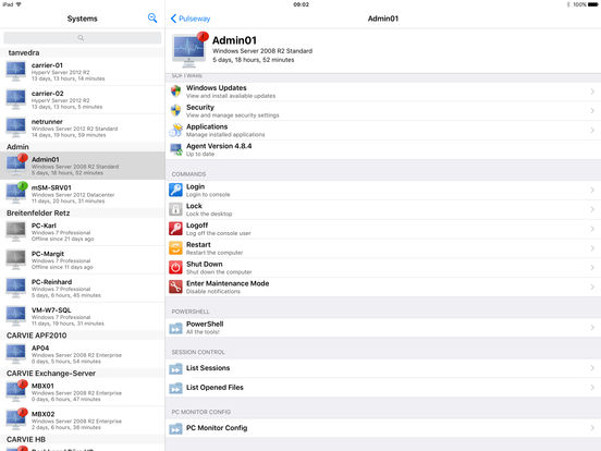 PC Monitor iPad Screenshot 3