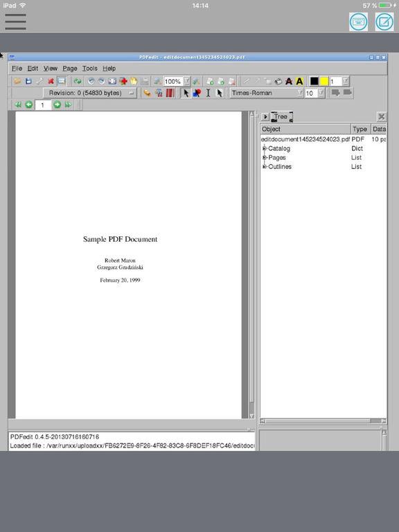 MaxiPDF PDF редактор & создатель Скриншоты8