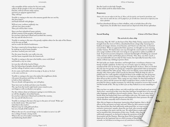 Catholic Calendar iPad Screenshot 1