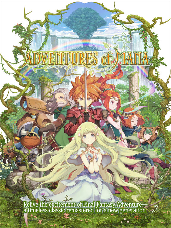 Adventures of Mana на iPad