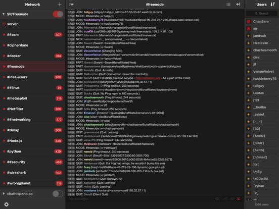 Machine X for IRC Screenshots
