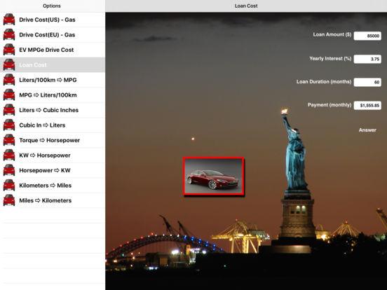 CarFacts iPad Screenshot 1