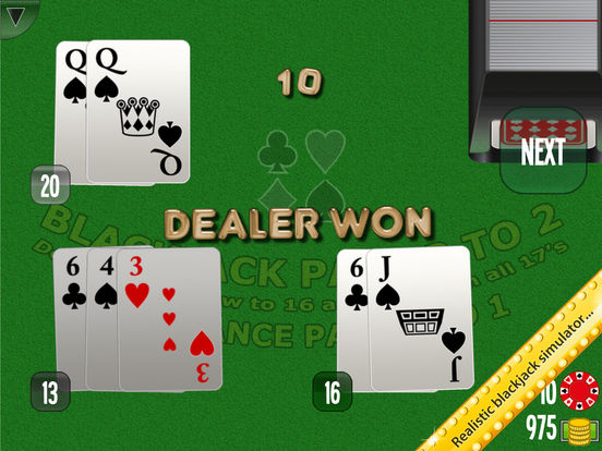 Blackjack plus tips