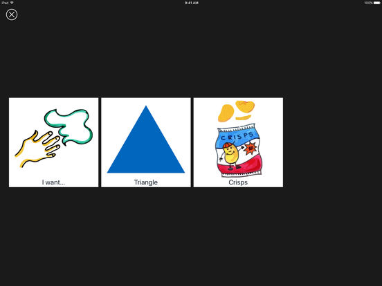 Grace - Picture Exchange for Non-Verbal People iPad Screenshot 4