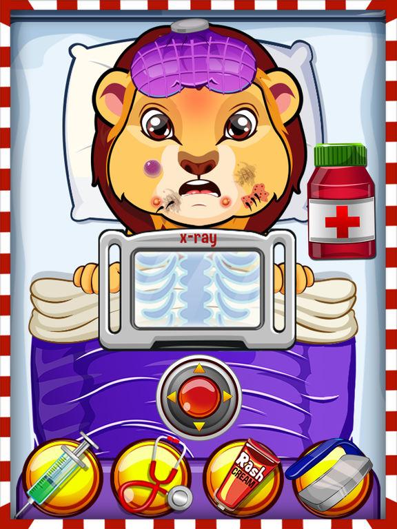 Crazy Pet Vet Hospital Doctor - Fun dentist hair, nose & eye care salon games for girlsscreeshot 1