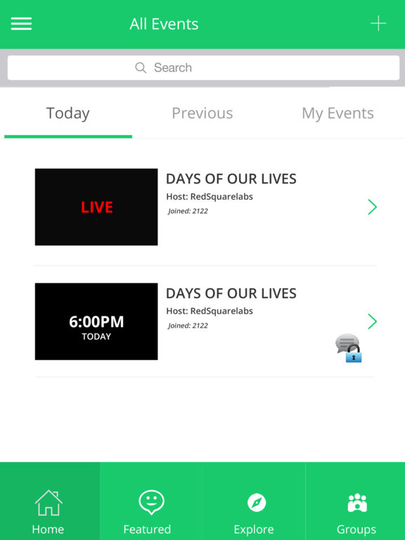 Crowd Maestro Lets Users Join or Host Online Chat For Live TV & Events Image