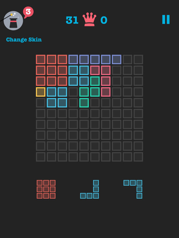 Free to Fit: Color block puzzle logic stack dots для iPad