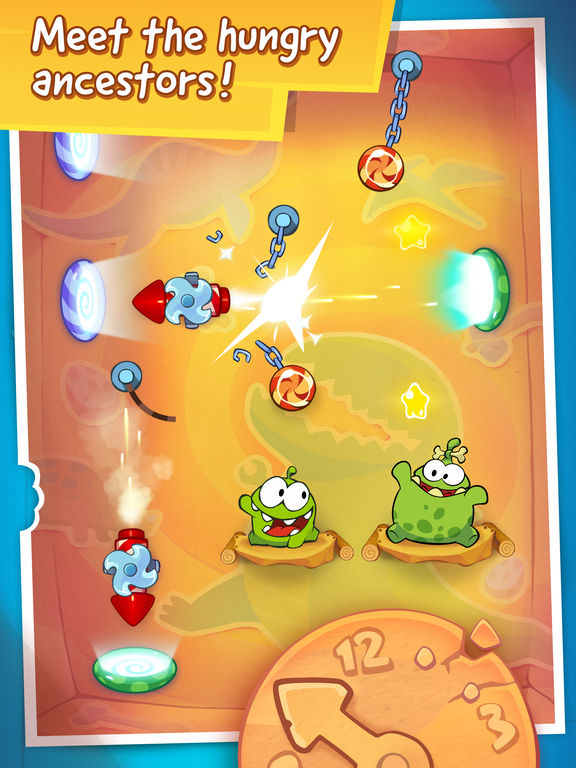 Screenshot #5 for Cut the Rope: Time Travel HD