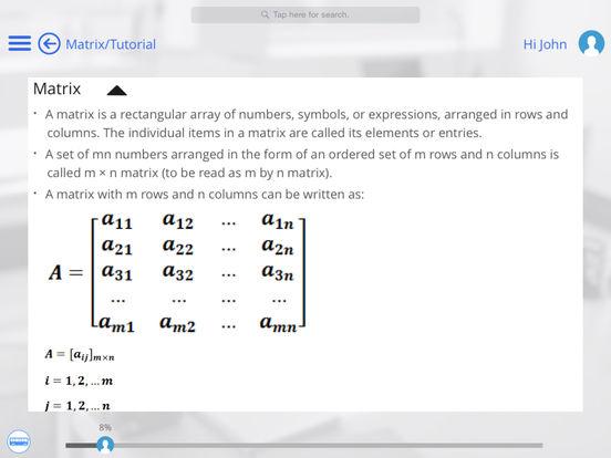 Algebra-II for iPad iPad Screenshot 3