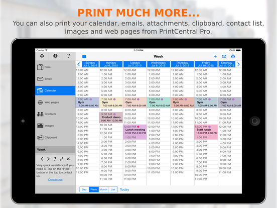PrintCentral Pro iPad Screenshot 5