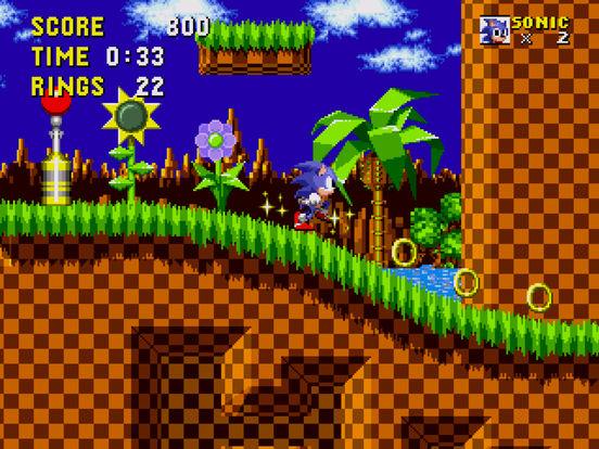 Sonic the Hedgehog iPad Screenshot 2