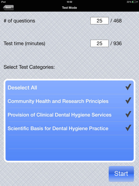 Dental Hygienist primary writing lines