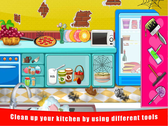 Baby Doll House Cleaning And Decoration Free Fun Games