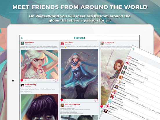 PaigeeWorld – Share your drawings and Learn how to draw manga and anime. screenshot