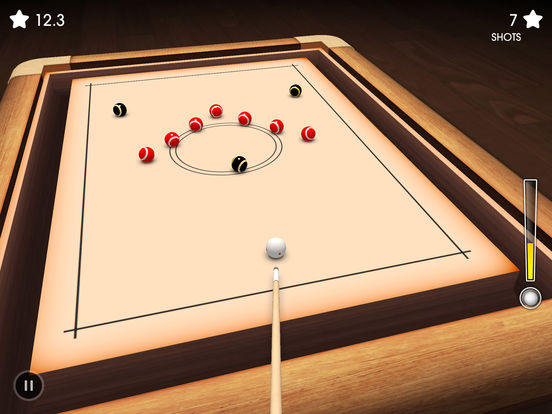 Crazy Pool 3D Lite iPad Screenshot 1