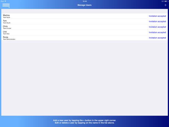 Aussendienst iPad Screenshot 5